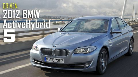 2012 Bmw Activehybrid 5 Review With Full Specs Price And Pictures