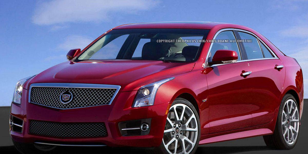 2014 Cadillac Ats V 2014 Cadillac Ats V Photos And Specs