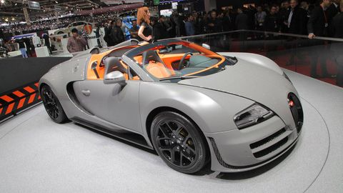 2013 Bugatti Veyron 16 4 Grand Sport Vitesse Photos And Specs