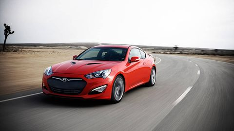 2013 hyundai genesis coupe first drive. Black Bedroom Furniture Sets. Home Design Ideas