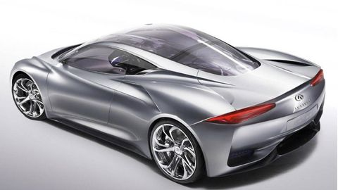 Automotive design, Vehicle, Vehicle door, Car, Red, Concept car, Fender, Alloy wheel, Automotive lighting, Rim,