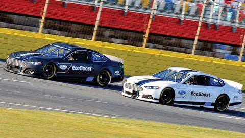 Fords 2013 Nascar Fusion New Race Cars
