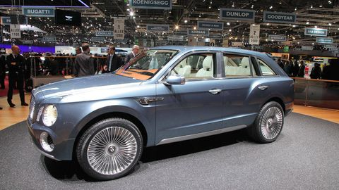 Bentley EXP 9 F Concept – Bentley SUV – Fastest SUV Ever ...