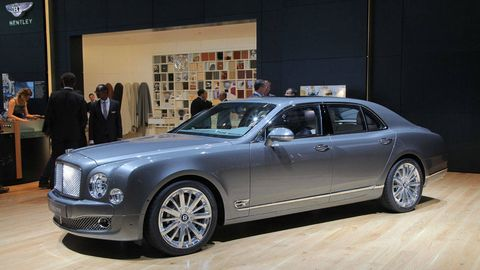 2012 Bentley Mulsanne Mulliner Extreme Luxury From Bentley