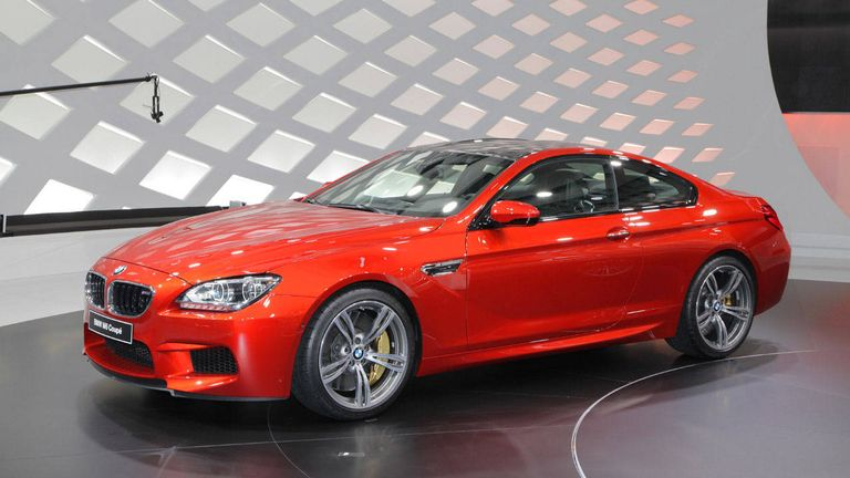 2013 BMW M6 Coupe Pictures and Specs - 2012 Geneva Auto Show ...