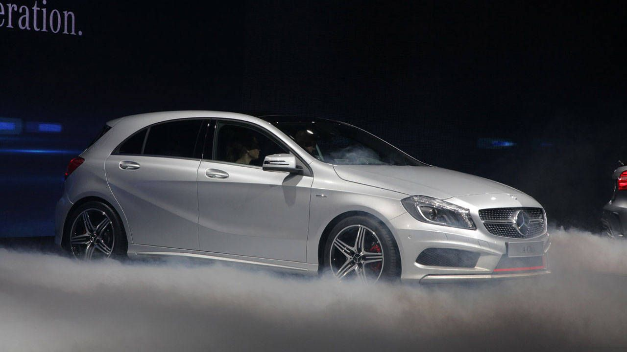 Mercedes Benz mercedes benz a class : 2012 Mercedes-Benz A-Class Photos – A-Class is Coming to the US ...