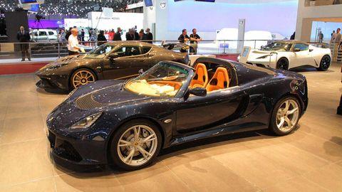 2013 Lotus Exige S Roadster Video 2012 Geneva Auto Show