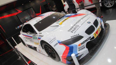 Bmw M3 Dtm Race Car At 2012 Geneva Auto Show