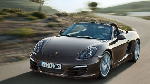 2013 Porsche Boxster And Porsche Boxster S First Drive With