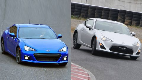 The Much Aned Scion Fr S And Subaru Brz Are Finally Reaching Dealerships While I M Excited That These New Coupes Rear Drivers Fully Embrace