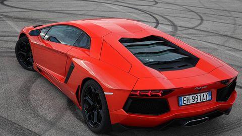 2012 Lamborghini Aventador Lp700 4 Road Test Lambo Aventador Test