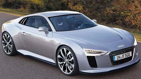 Audi R First Look Audi R Images Baby R Details - Audi r5