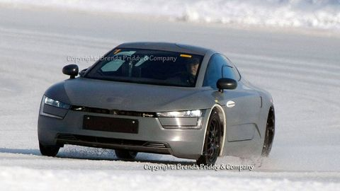 2014 Volkswagen Xl1 Caught Testing First Vw Xl1 Production Mule Photos