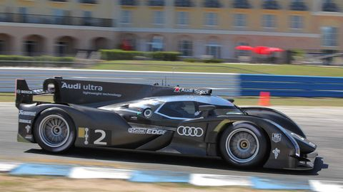 We Ve Just Gotten Back From Sebring Where Watched A Test Of Audi S Le Mans R18 E Tron Quattro Two Days After Whipping The Compeion While Winning