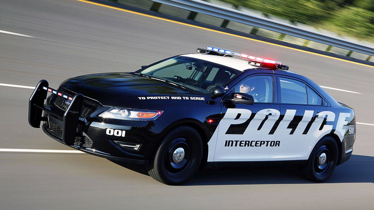 2012 Ford Police Interceptor With Bullet Proof Doors And Stab