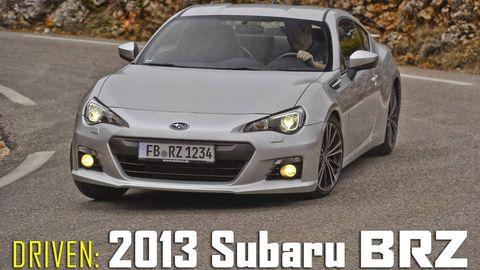 First Street Drive 2013 Subaru Brz Subaru Brz Specs Price