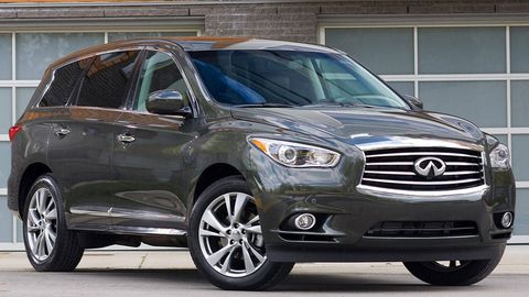 2013 Infiniti Jx35 First Drive 2013 Infiniti Jx Crossover Review