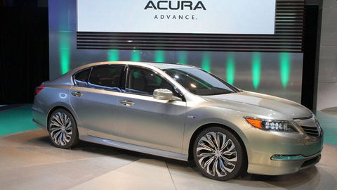 It Has Been Tough Times For Acura S Flagship Sedan The Rl Ever Since Company Changed Car Name From Legend Intends To Turn Things Around