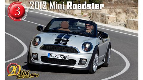 2012 Mini Roadster Is Front Drive Nirvana 20 Hot New Convertibles