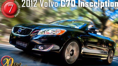 2012 volvo c70 convertible