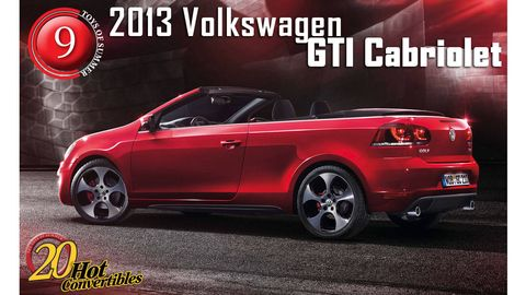 Cast Aside Any Notions That This New 4 Seat Gti Cabriolet Is A S Car The Turbocharged Engine Boasts 207 Bhp Routed To Front Wheels Via