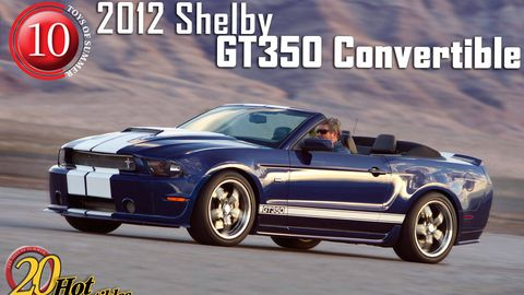 2012 shelby st350 convertible