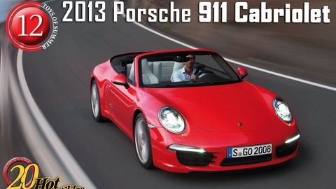 2013 porsche 911 convertible