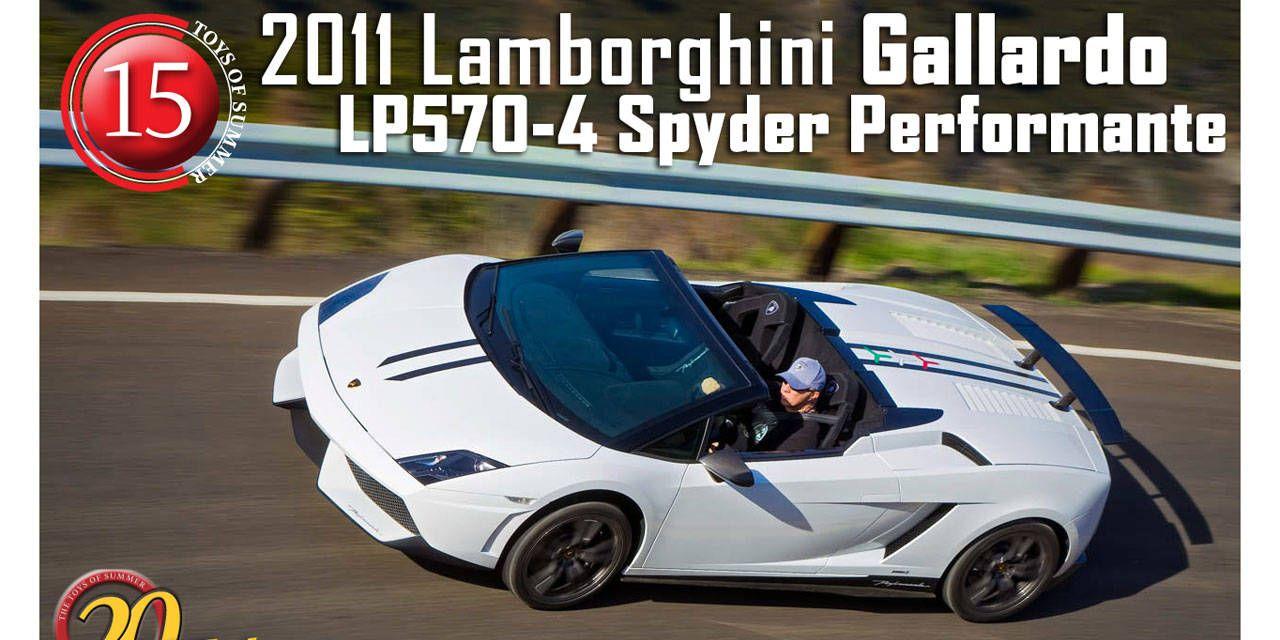 2011 Lamborghini Gallardo Lp570 4 Spyder Performante 20 Hot New
