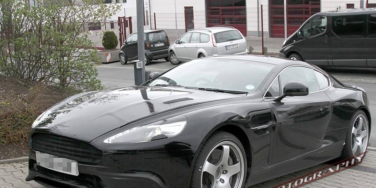 2014 Aston Martin Dbs Photographed Testing In Europe Roadandtrack Com