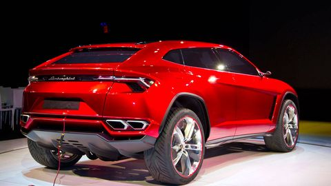 ready or not, the lamborghini suv is coming in 2018