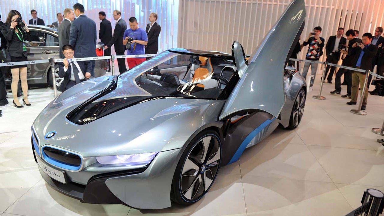 Bmw I8 Concept Spyder Photos Specs At 2012 Beijing Auto Show