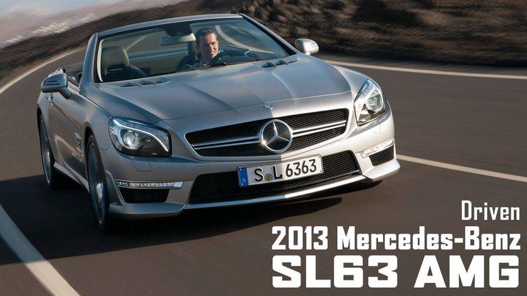 2013 Mercedes-Benz SL63 AMG Specs, Review, Photos – RoadandTrack.com