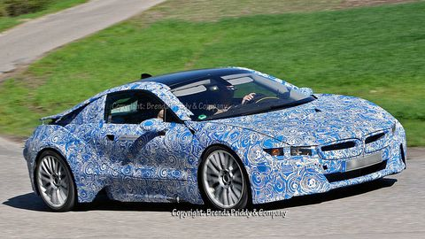 Little By The Production Version Of Bmw I8 Coupe Is Coming More Into Focus Ahead Its Launch In 2017 We Ve Seen Car Concept Form