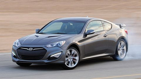 The 2017 Hyundai Genesis Coupe Does What Every Sporty 2 Door Should Do Go Fast And Look Good Doing It That Recipe Sounds Simple