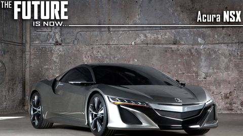 Acura Nsx Concept Car In Depth The Legend Returns Roadandtrack