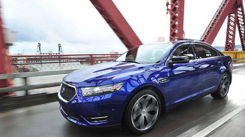 2013 Ford Taurus SHO with Performance Package Review, Specs, Photos