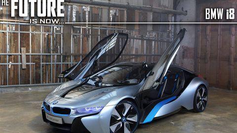 Bmw I8 Supercar Concept Car In Depth New Bmw I8 Future Car