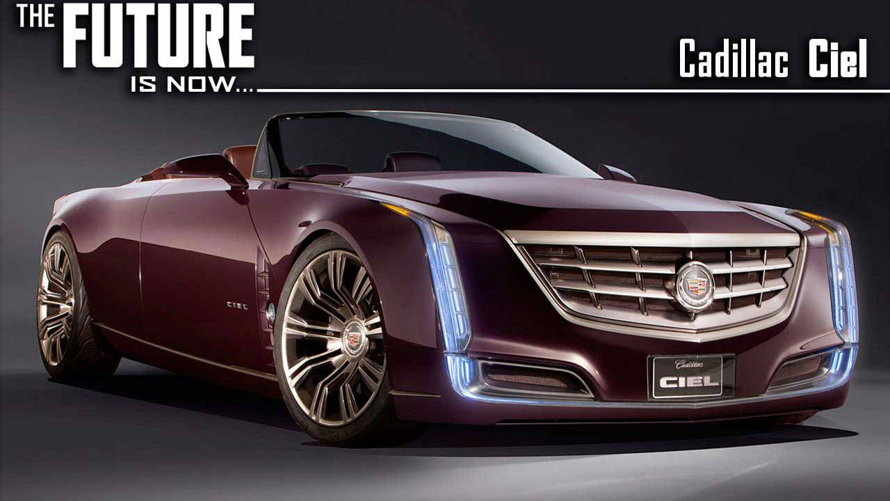 Cadillac Ciel Concept Car In Depth Future Car Concept From