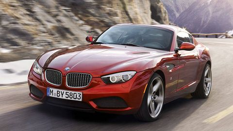 Bmw Zagato Coupe First Photos And Specs Roadandtrack