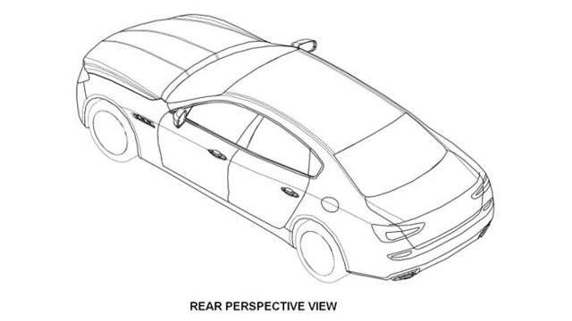 2014 Maserati Quattroporte First Illustration And Specs