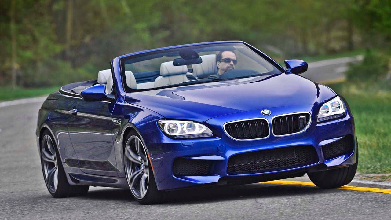 2013 Bmw M6 Convertible First Drive Review Bmw S Fastest M Roadandtrack Com