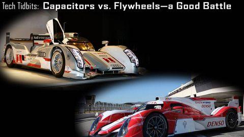 capacitors vs flywheels