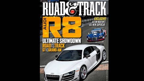 road  track august 2012 cover