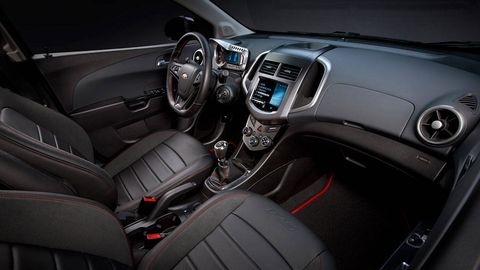 2013 chevy sonic 1.4 manual