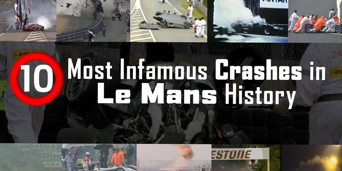 10 Most Infamous Crashes In Le Mans Racing History Collision Video Roadandtrack Com