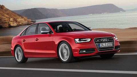 2013 Audi A4 Sedan And 2013 Audi S4 Review Price Specs And Photos