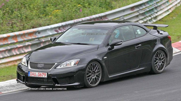 2014 Lexus IS-F Caught Testing – See first 2014 IS-F Photos ...