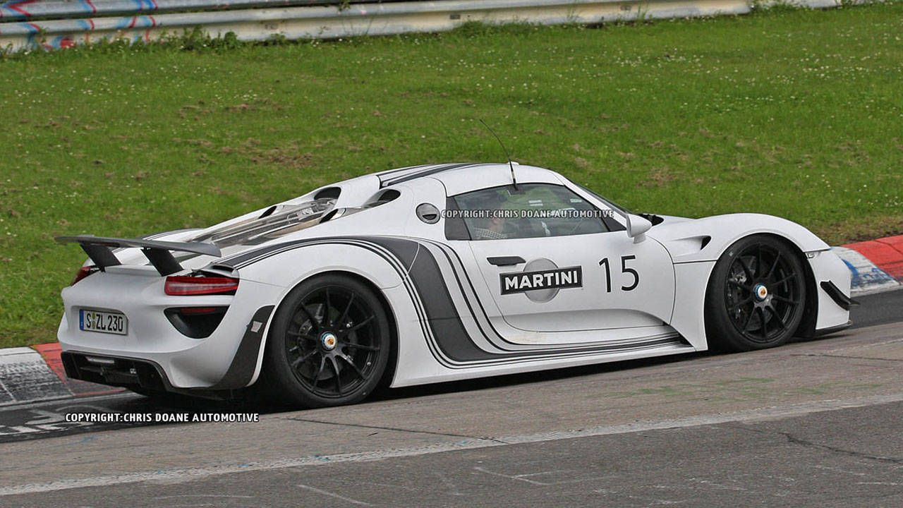 Pay Roadandtrack Com >> Caught Testing: Martini Racing Porsche 918 Hybrid Supercar Driven by Walter Röhrl – RoadandTrack.com