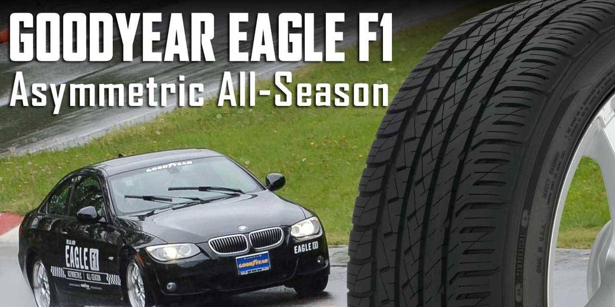 goodyear eagle f1 asymmetric all season tire review. Black Bedroom Furniture Sets. Home Design Ideas