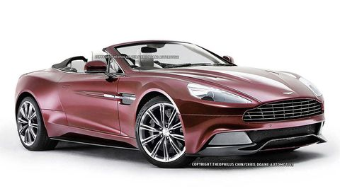 Aston Martin Vanquish Volante First Look And Specs - Aston martin vanquish convertible
